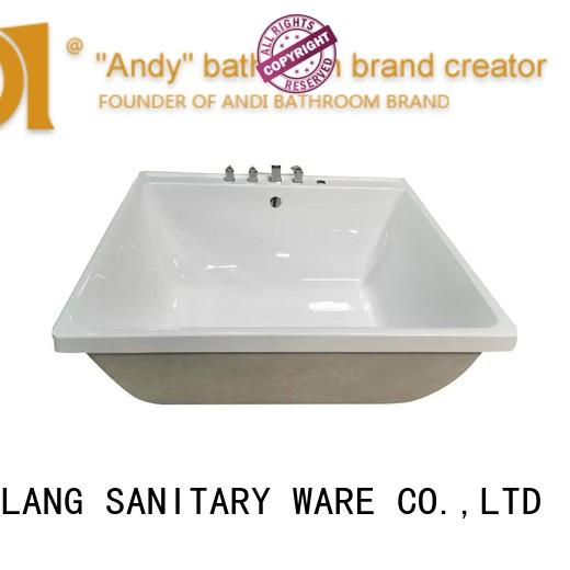 ANDI special acrylic freestanding tub directly sale for hotel