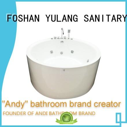 quality round whirlpool bathtub wholesale for home
