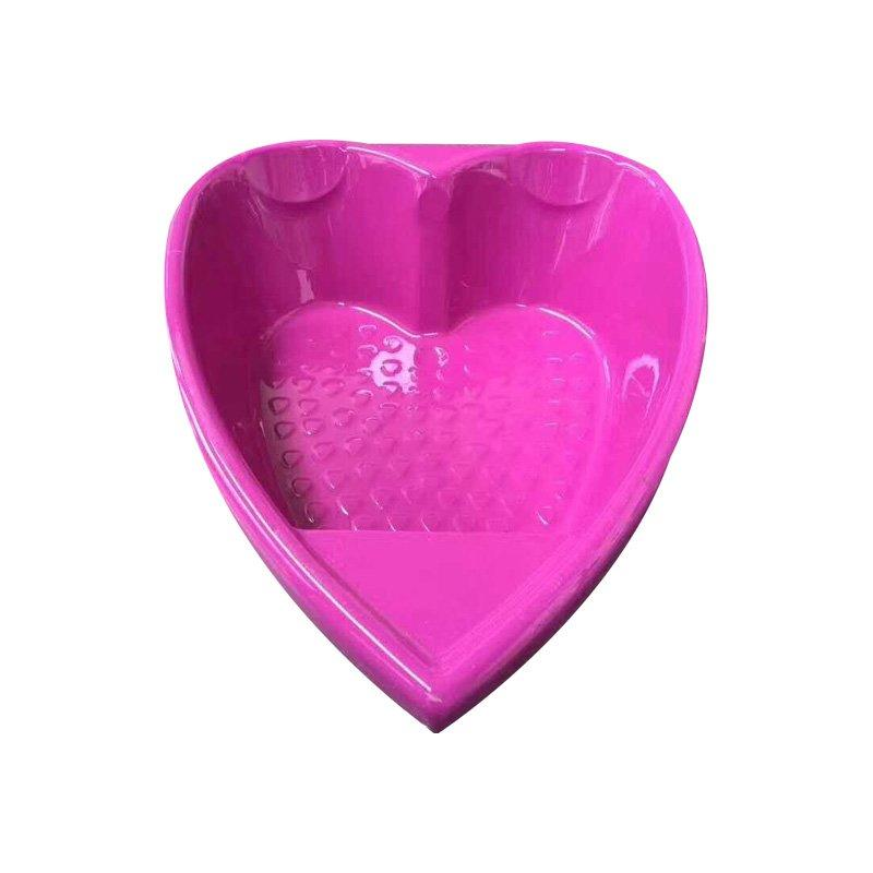 Hot Sell Newest Design Red HeartAcrylic Heart Shaped Bathtub AD-649