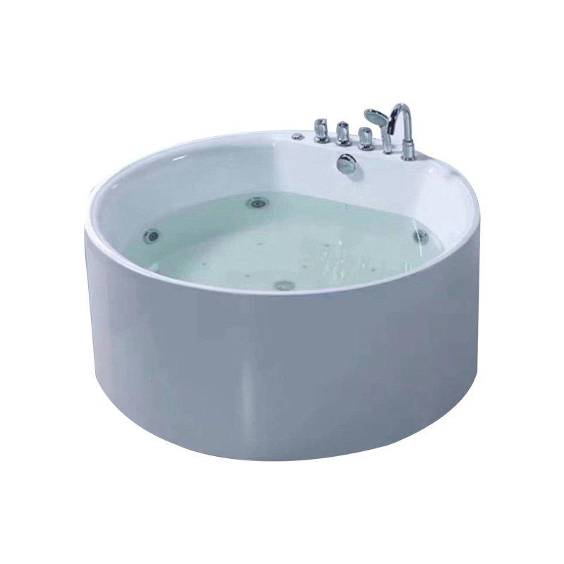 AD-714 Hotel  Freestanding Round Whirlpool Massage Bathtub