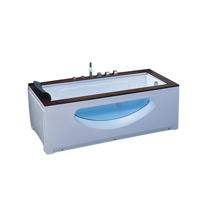 AD-606 Cheap Price Hydromassage OnePerson Tub Hot Massage Bathtub Whirlpool