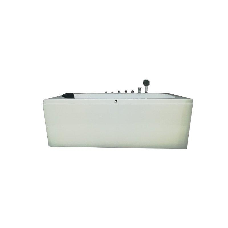 Acrylic Home-used Whirlpool Spa Bathtub with Pillow