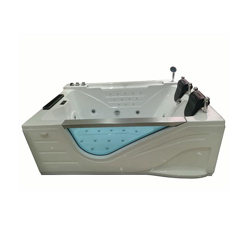 Hot Sale 2 Person Jet Whirlpool Massage    Air Bubble Bathtub with TV
