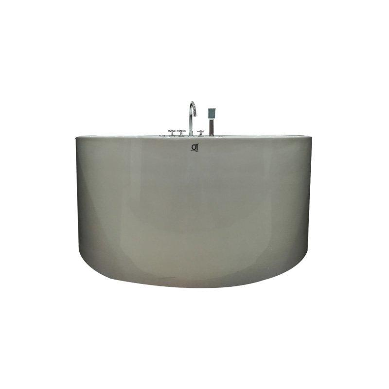 Modern Acrylic Round Big Nozzle Massage Hotel Bathtub
