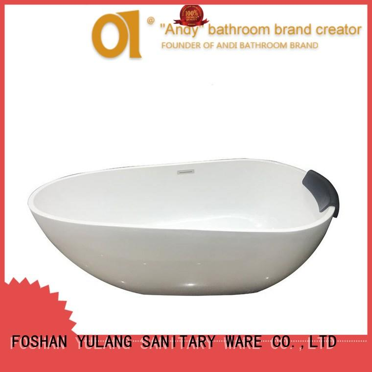 special acrylic tub oval directly sale for apartment