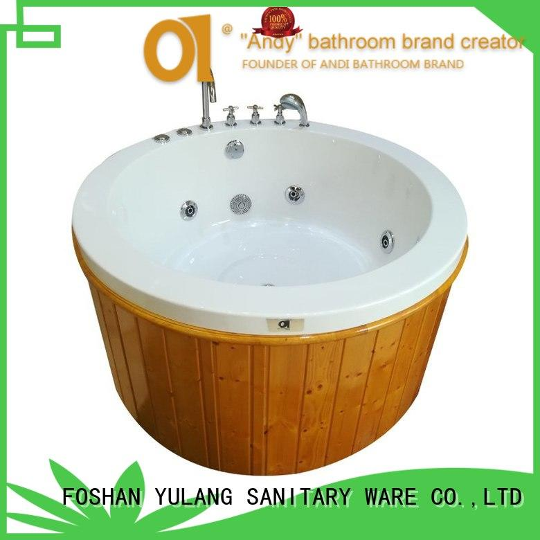 person small round tub factory price for home ANDI