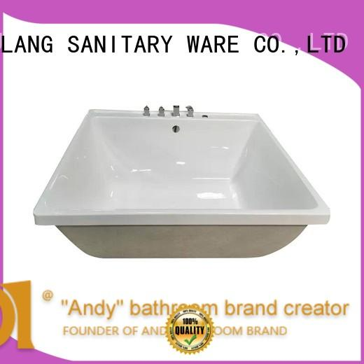ANDI exquisite acrylic whirlpool tubs online for hotel