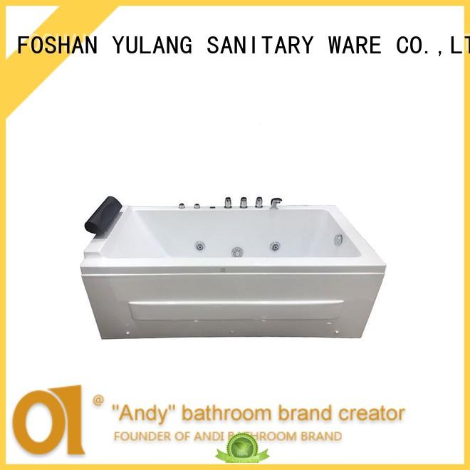 ANDI bathtubs spa tub promotion for apartment