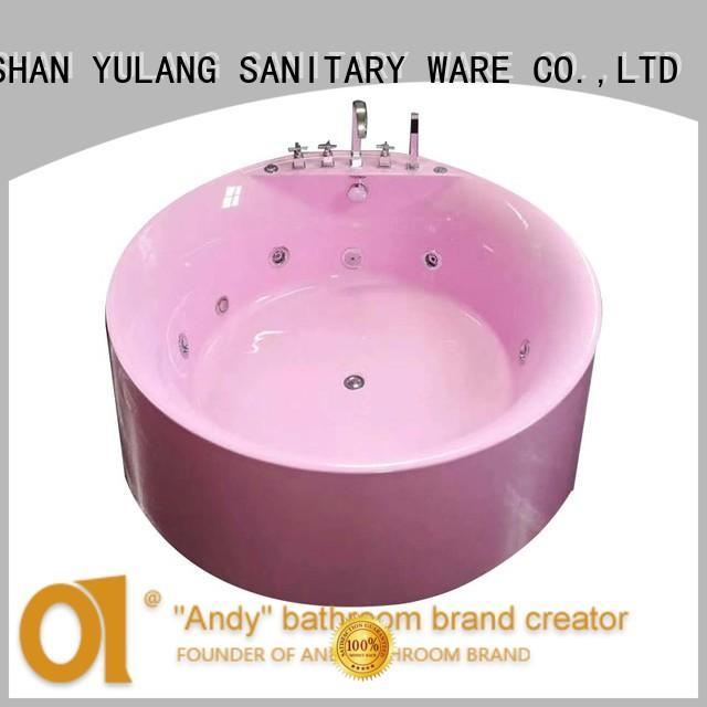 unique stand alone jetted tub bathtub for villa