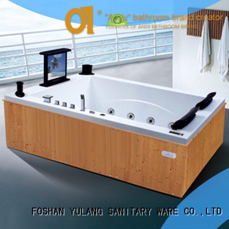 ANDI embedded bathtub spa massager directly sale for bathroom