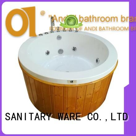 ANDI unique freestanding air tub directly sale for apartment
