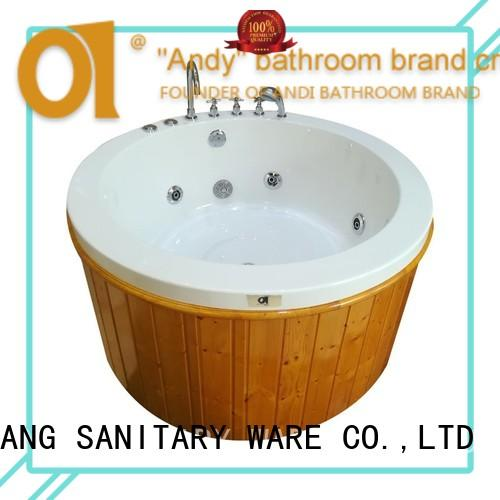 professional freestanding jetted tub massage for bathroom