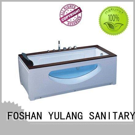 Hot rectangular whirlpool tub adult ANDI Brand