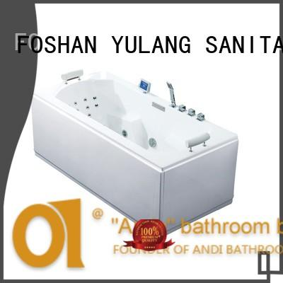 hydromassage air jet tubs with tub for villa ANDI