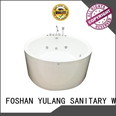 1550mm acrylic round bathtubs for sale quality design ANDI Brand