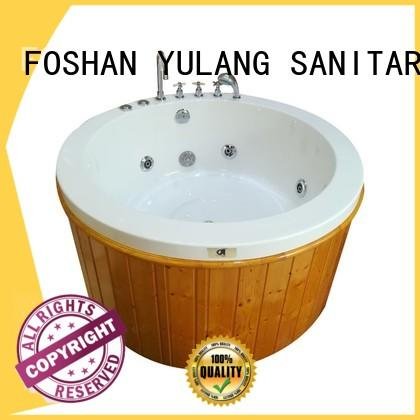 design board wooden ANDI Brand round bathtubs for sale factory
