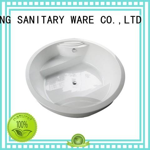 bathtub bathtubs round ANDI Brand round bathtubs for sale manufacture