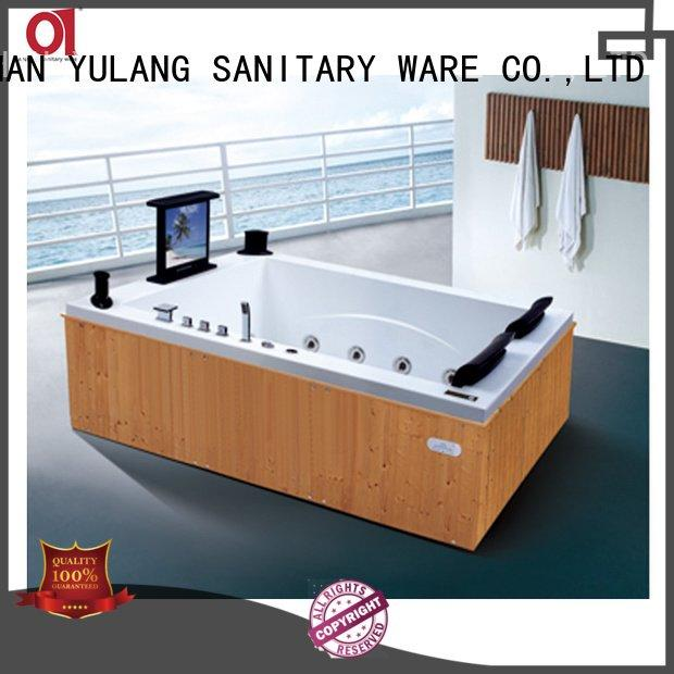 ad606 ANDI rectangular whirlpool tub