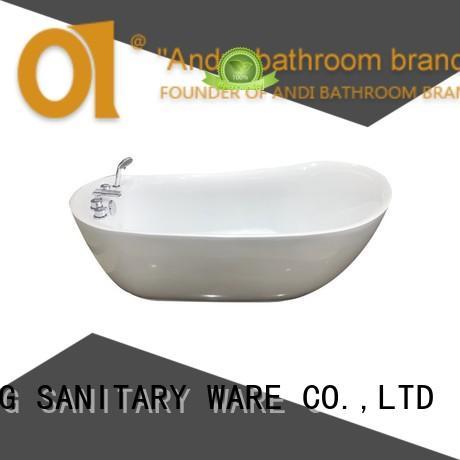 ANDI soaking acrylic tub for villa
