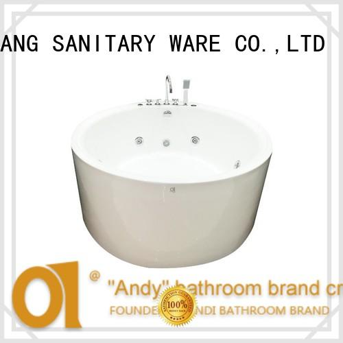 ANDI freestanding round freestanding tub supplier for home