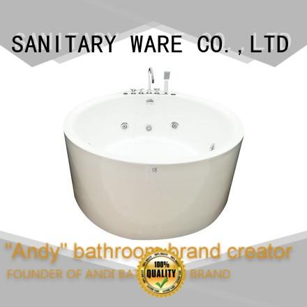 ANDI seats freestanding air tub directly sale for hotel