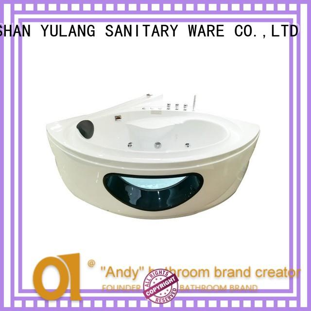 durable corner jacuzzi bath supplier for hotel ANDI