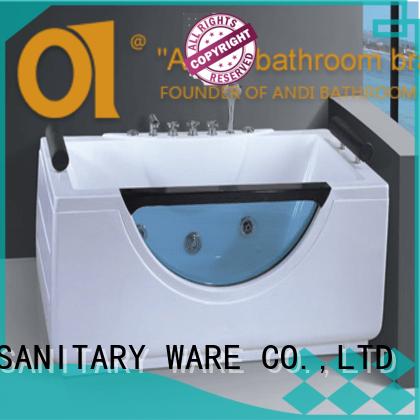 ANDI Brand bathtub whirlpool acrylic bathtub manufacture