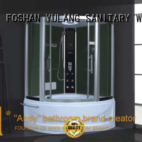 Wholesale 1200mm arc sauna steam room bathtub shower combination AD-909