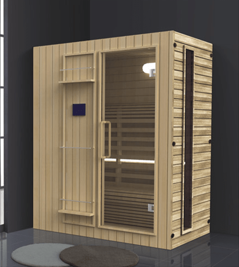 ANDI China manufacturer wholesale high quality wooden far infrared sauna dome AD-960 Steam or Sauna  Room image12