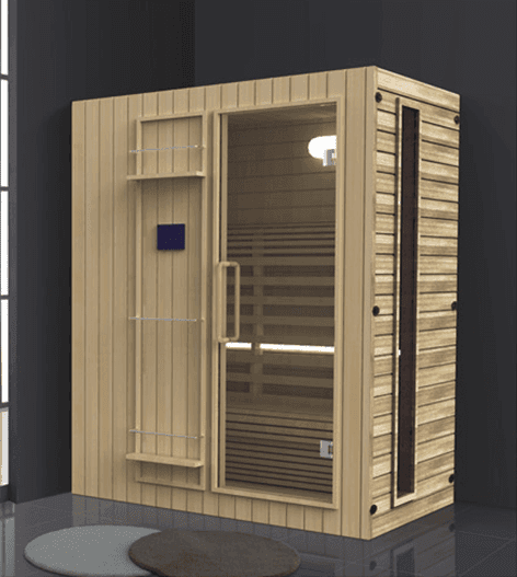 China manufacturer wholesale high quality wooden far infrared sauna dome AD-960
