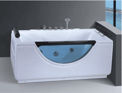 AD-656 Bathtub supplier small rectangle glass bathtub price massage hot tub cheap price