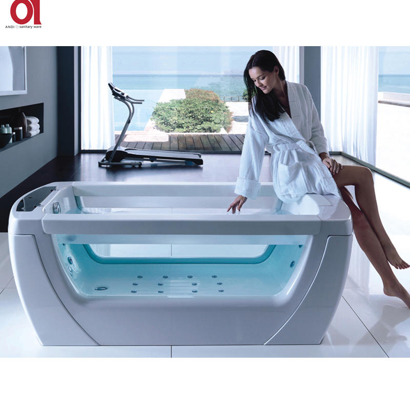 Hot acrylic bathtub price ANDI Brand