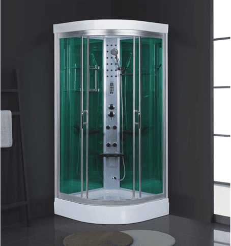 1.2m Mini 6mm Glass Standard Size Shower Steam Room for 1 Person