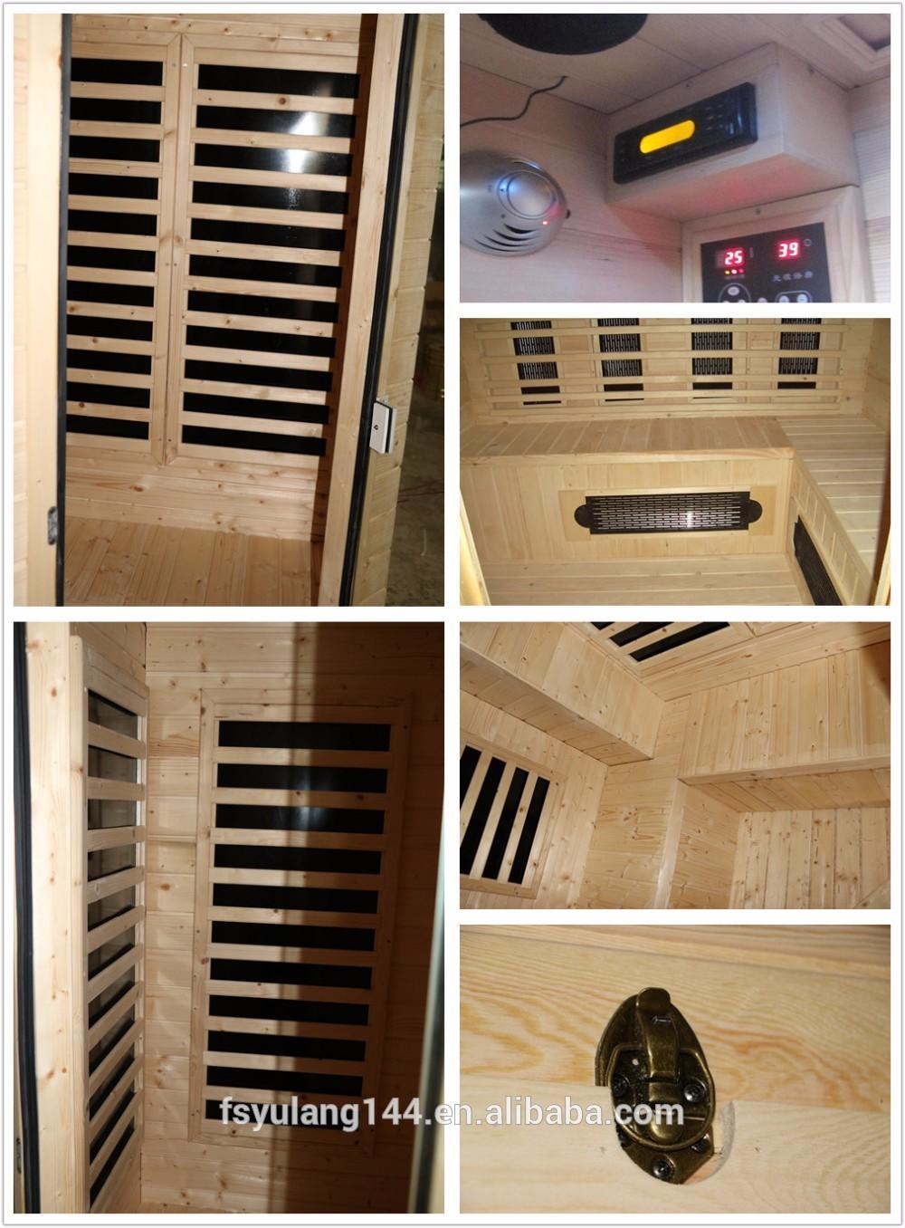 panel solid small ANDI Brand sauna vs steam room manufacture