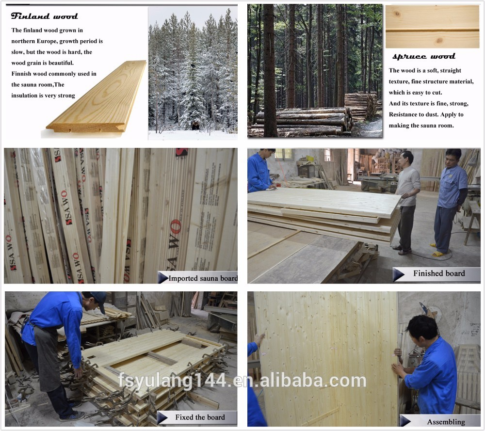 sauna room factory