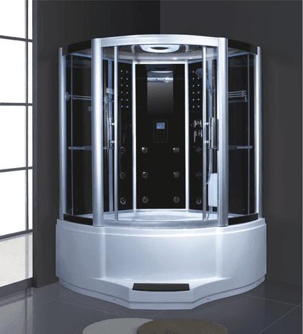 AD-911 wet steam shower sauna room with massage bathtub for gym with sauna hidden cam massage room from chinese supplier
