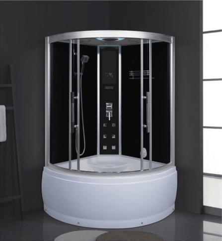 ANDI AD-911 wet steam shower sauna room with massage bathtub for gym with sauna hidden cam massage room from chinese supplier Steam or Sauna  Room image35