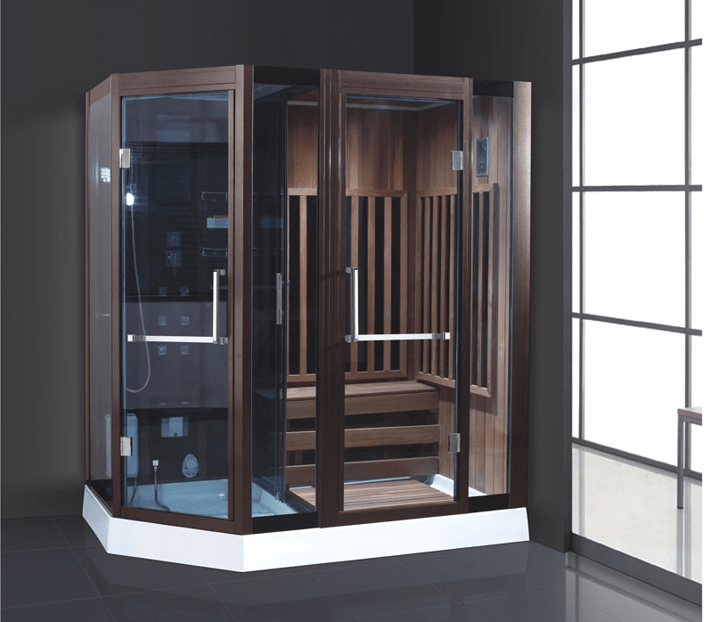 ANDI AD-945 High Quality Solid Wood Dry and Wet Steam Sauna Room Steam Steam or Sauna  Room image33