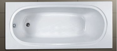 AD-03 High Quality Acrylic Anti-slip Soaking Tub with Armrest Drop in Jakuzzy Undermount Harga Bathtubs In Floor