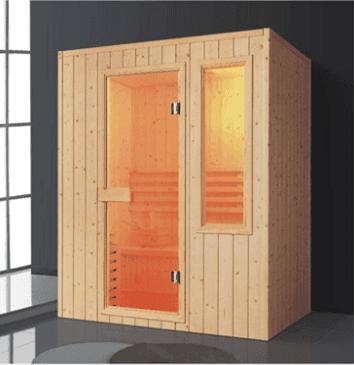 High quality finland pine wood bathroom sauna room/sauna suit/dry steam AD-964