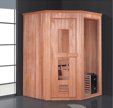 Hot selling wood house Finland portable outdoor sauna room for sale AD-969