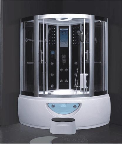 AD-901 Massage Shower Room with TV Steam Shower Stall Steam Room