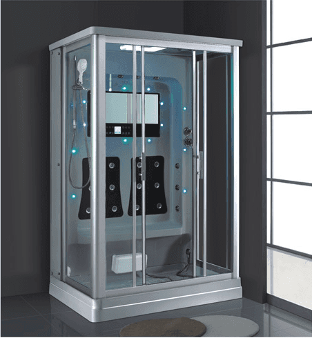 AD-902 Luxury High Quality Computer Controlled Steam Sauna Shower Cabinet Room