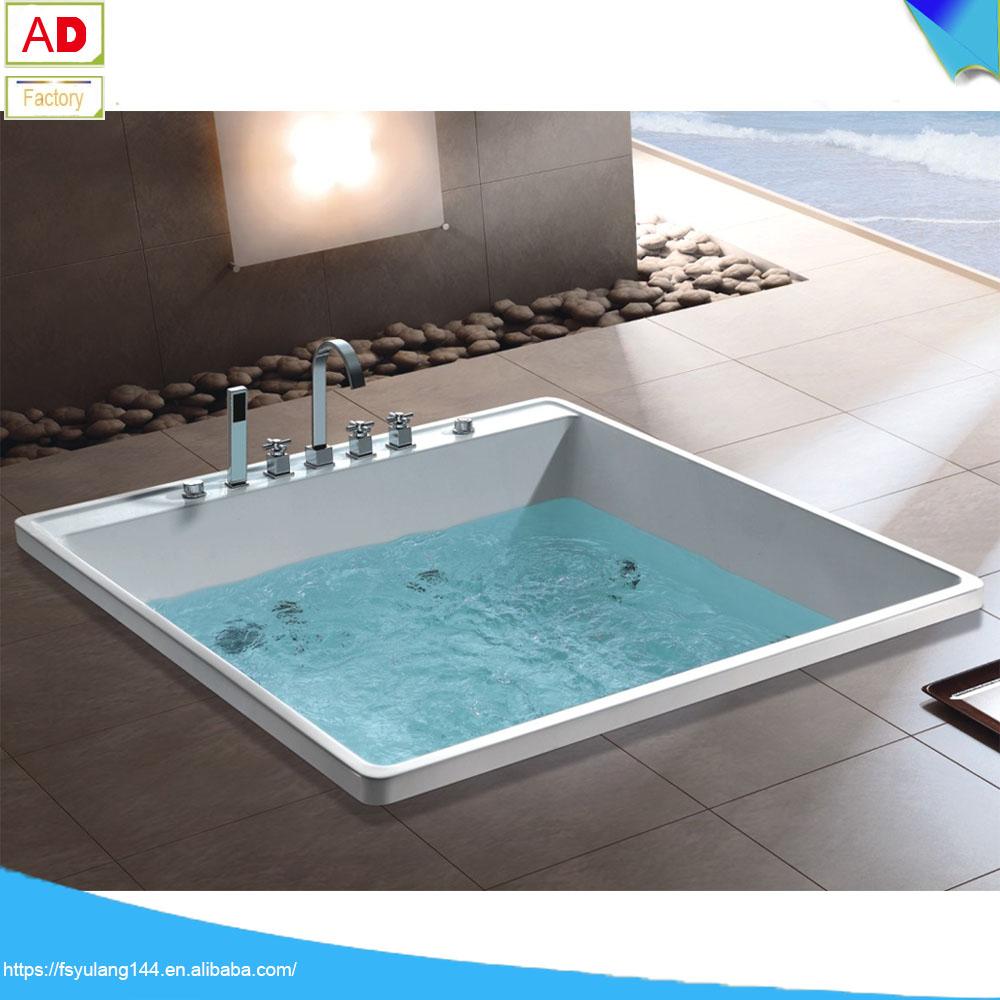 drop in bathtub