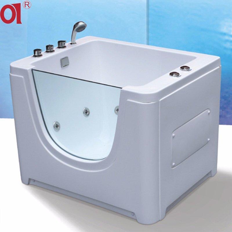 Cheap price freestanding installation baby spa equipment bathtub for children whirlpool spa whirlpool baby use bathtub AD-BB08