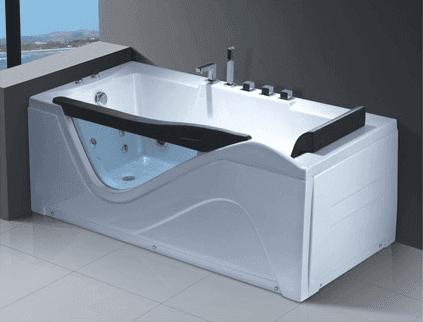 China Manufacturer Wholesale Acrylic Jet Surfing Massage Whirlpool Bathtub AD-642