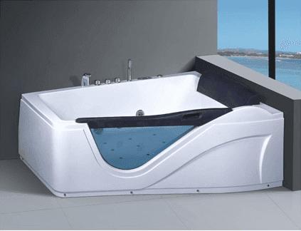Wholesale Latest Bathroom Design 2 Person Acrylic Sexy Hydro Massage Bathtub AD-644
