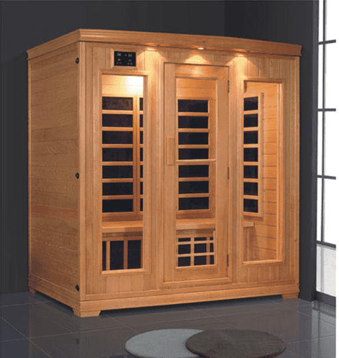 Modern Design Rectangular 1820mm Home Made Wooden Infrared Sauna Room Cabin AD-959