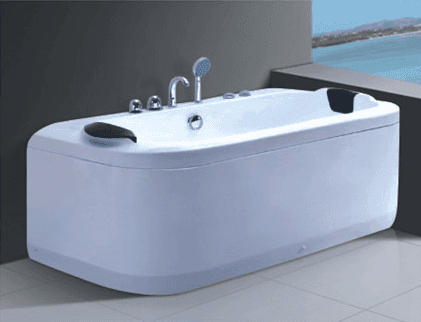 China Leading Manufacturer Supply Acrylic Fiberglass Bathtubs Wholesale AD-670