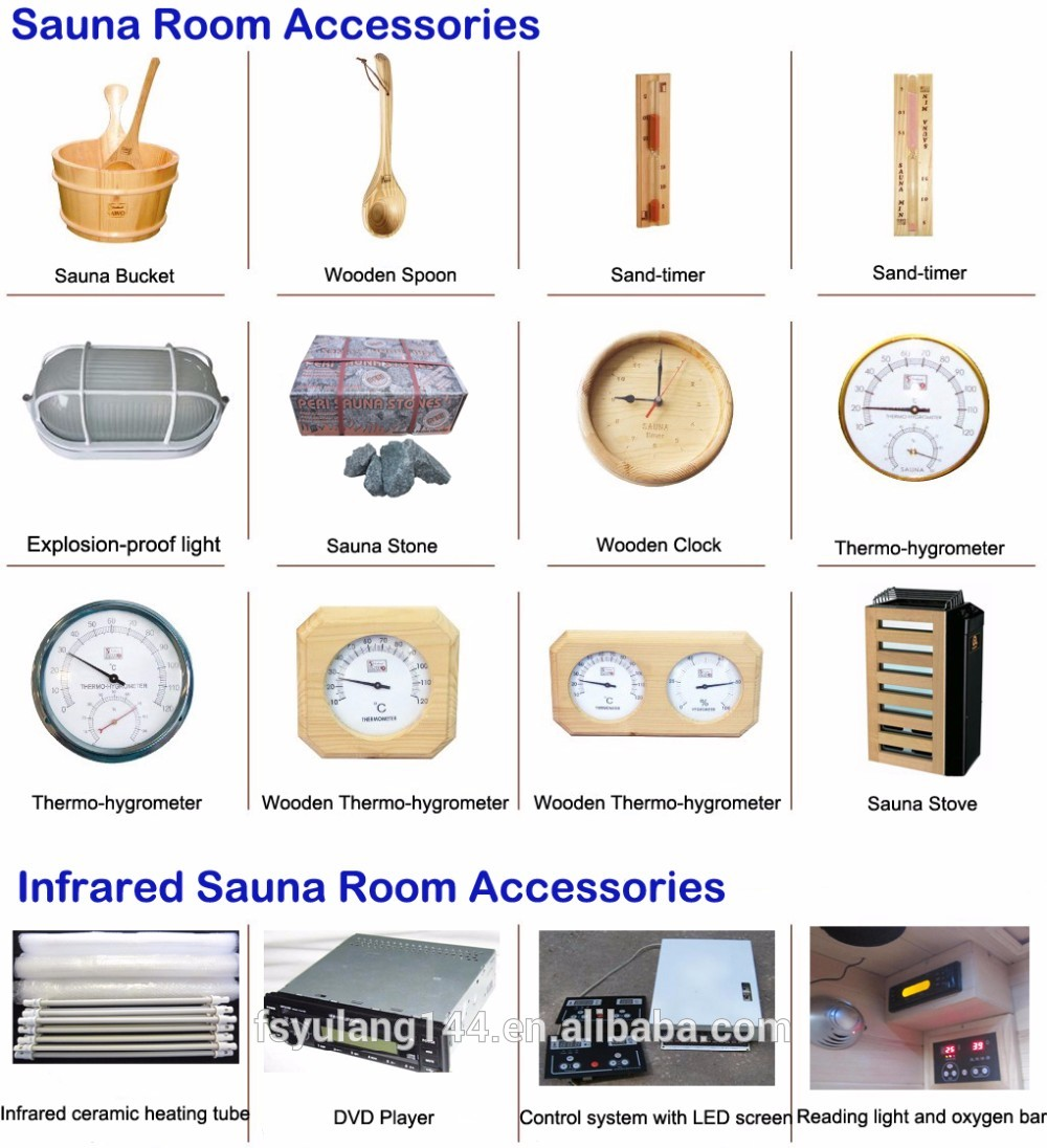 Wooden Infrared Sauna Room